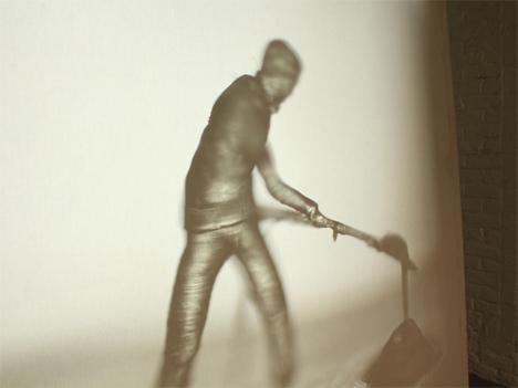 man at work relief conveyor belt film