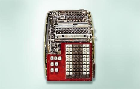 12 antique calculator interiors