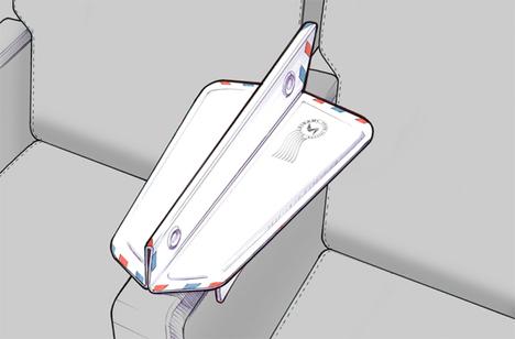 airplane armrest divider soarigami