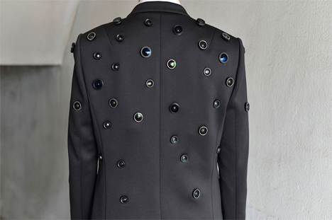 aposematic safety surveillance jacket