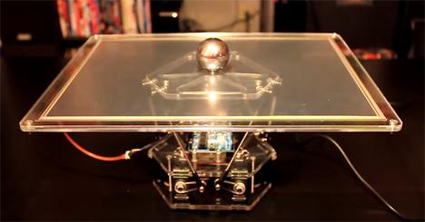 ball balancing platform robot
