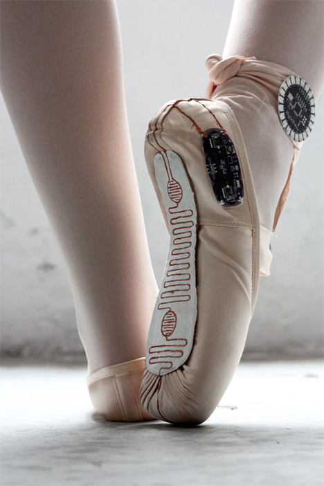 ballet shoes track movements
