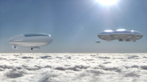 blimp manned mission to venus atmosphere