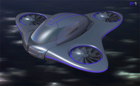 car helicopter airplane hybrid