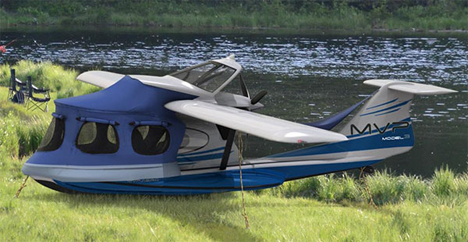 convertible vehicle boat plane tent
