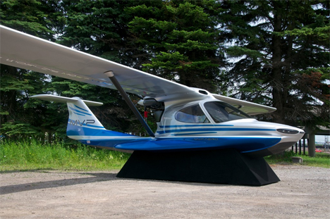Multi Tasking Seaplane Is A Fishing Boat Sundeck Tent