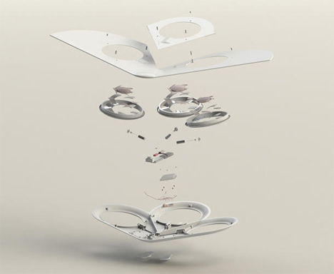 meltaway biodegradable flying drone