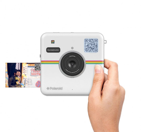 Polaroid's New Camera Prints + Uploads Pics Instantly | Gadgets ...