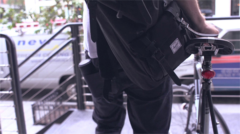 portable folding pole seat
