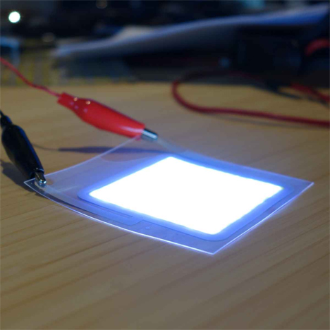 printable paper thin led lighting