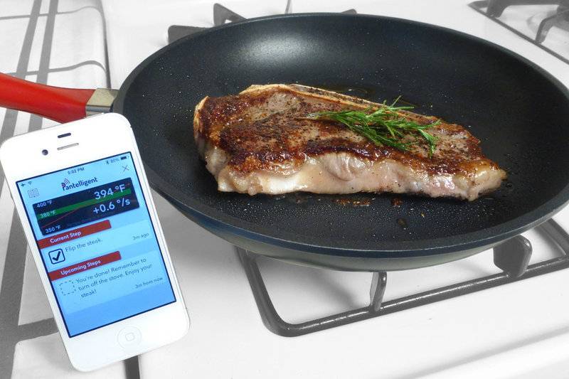 Smart Pan Gets Your Recipe Exactly Right Every Time