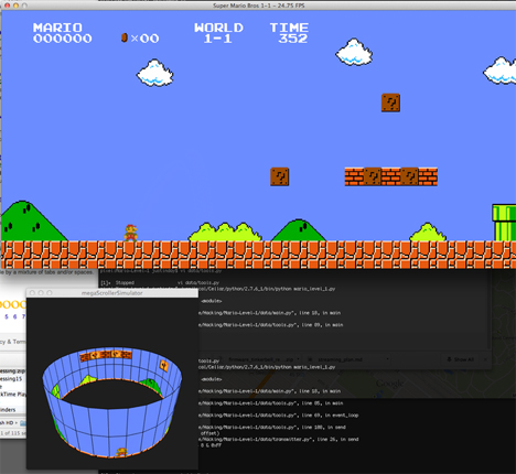 super mario bros megascroller game