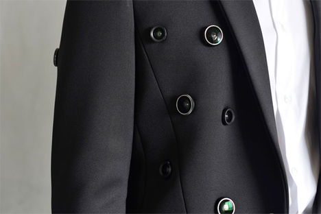 wearable surveillance camera jacket