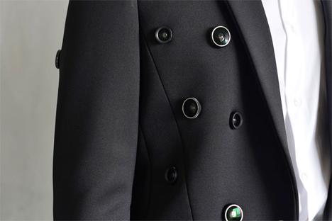 wearable surveillance camera jacket