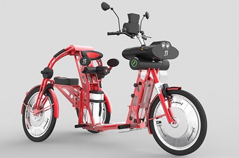 eco-friendly electric scooter transportation