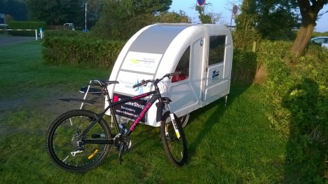 bike camper to go