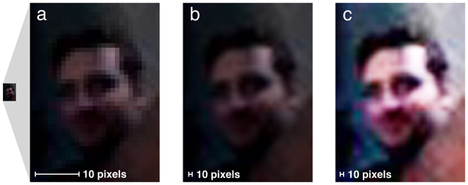 enhanced eye reflection photos