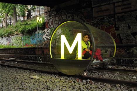 french design studio hehe train project