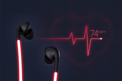 heart monitor headphones