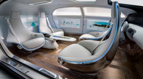 luxury in motion f 015 mercedes self driving car