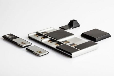 modular phone pieces detail