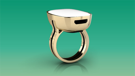 moodmetric smart mood ring
