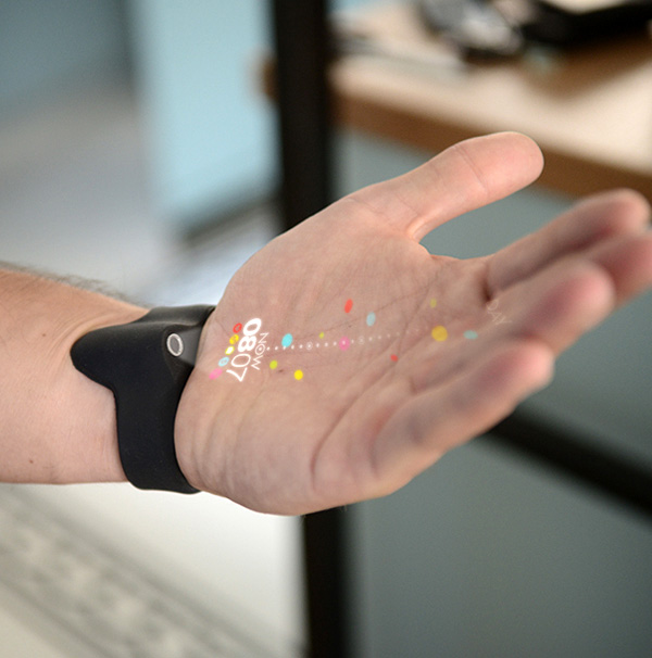 Wrist Phone Projector >> Predictables: Personalized Wearable Projection Interfaces | Gadgets, Science & Technology