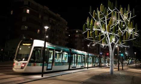 urban wind turbine tree