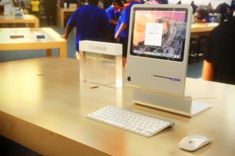 vintage apple desktop design