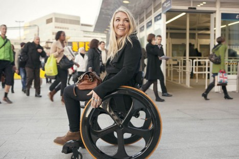 efficient lightweight carbon fiber wheelchair