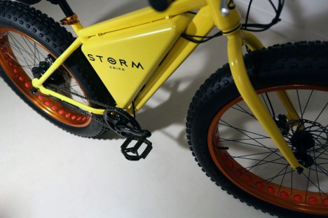 electric bike with swapping battery