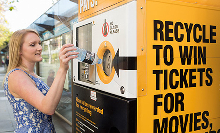 Reverse Vending Machines Recycle Cans For Cash Rewards