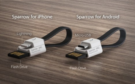 iphone android sparrow