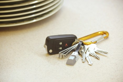 keychain usb cable and flash drive