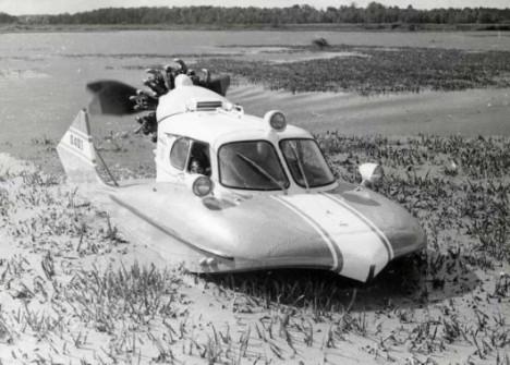 part boat part sled tupolev n007