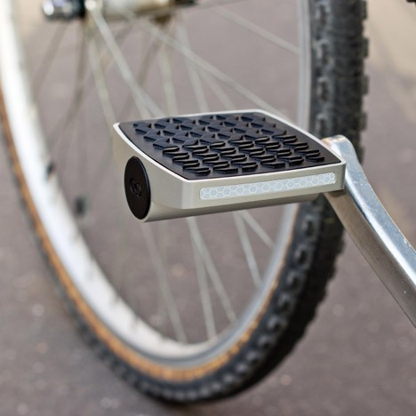 smart internet connected bike pedal