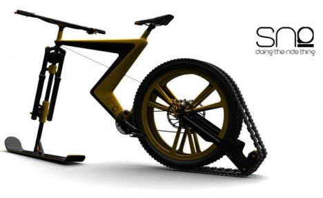 sno winter bike