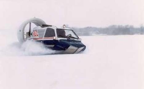soviet aerosledge