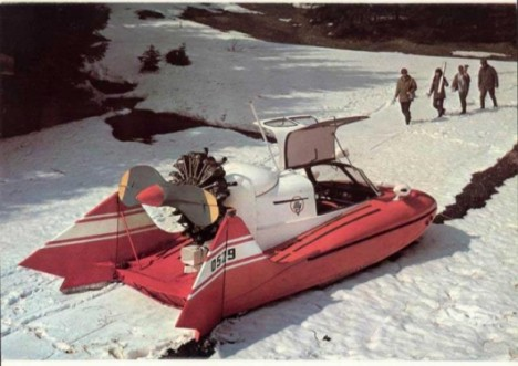 tupolev amphibious vehicle