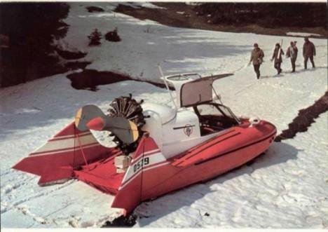 tupolev amphibious vehicle