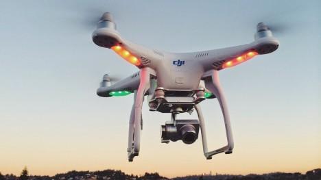 dji drone design