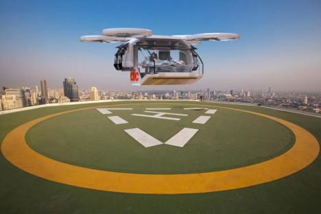 drone airlift emergency evac
