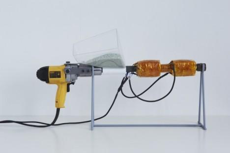 extrusion plastic gun