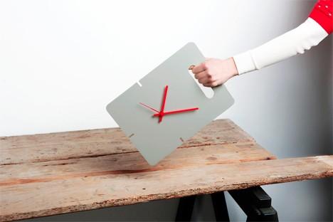 handle clock