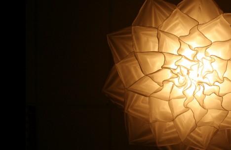 kinetic light fabric closeup