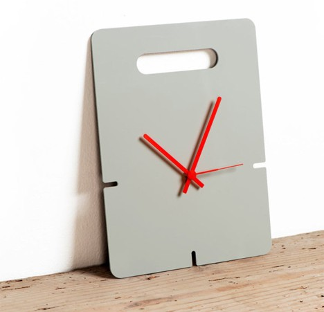 lok clock with handle