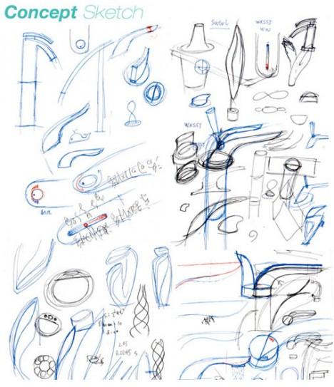 swirl concept design sketches
