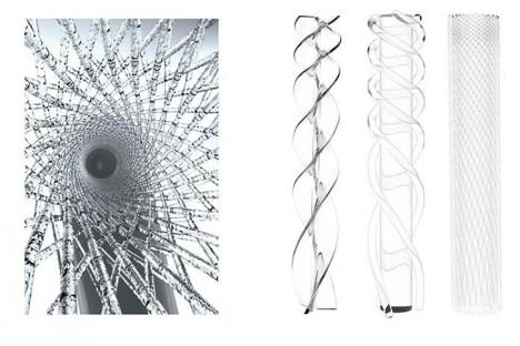 swirl faucet spiral inspiration