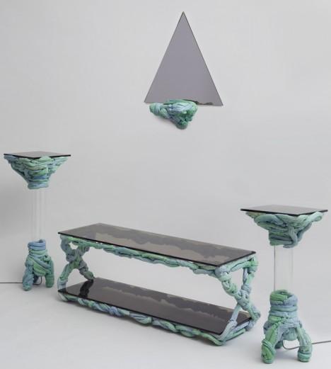 tube based furniture creation