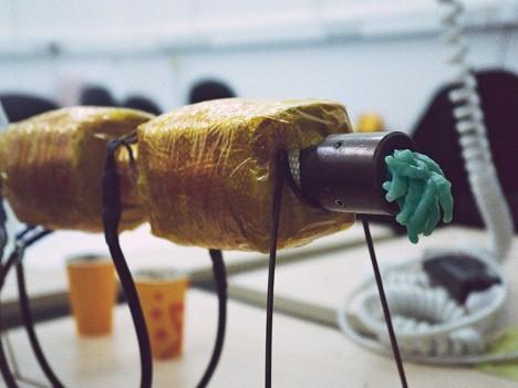 tube excess plastic creation